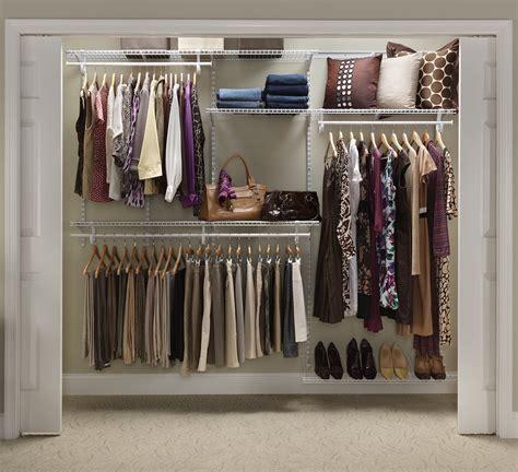 adjustable closet organizer white color    feet