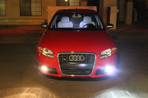 hid fog lights on a b7 audi a4 and s4 car zshow