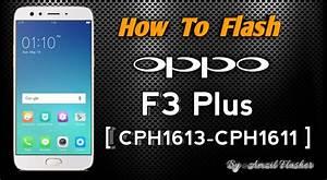 Cara Flash Oppo F3 Plus  Cph1613