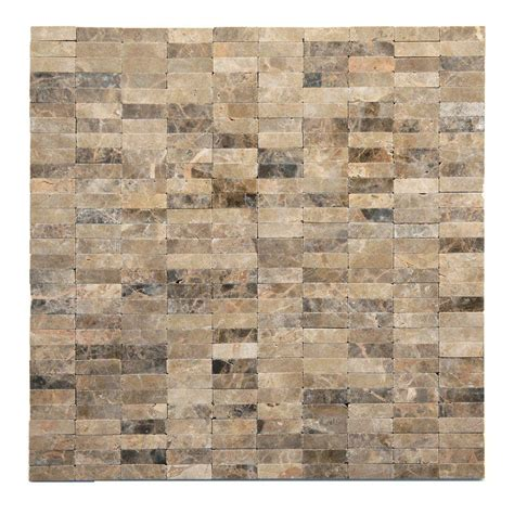 mosaic wall tile solistone post modern rodin 12 in x 12 in x 6 35 mm