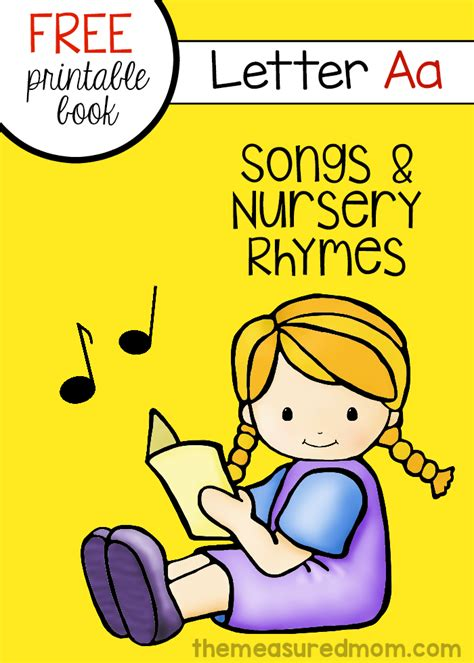 rhymes for preschoolers a free letter a book the 882 | free letter A book