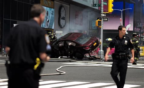 Times Square Hit And Run by Times Square Car Crash Suspect Richard Rojas Discharged