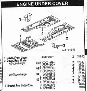 Diagram Of Under Body Trays  - Jaguar Forums