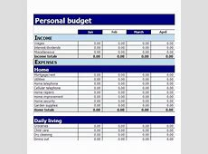Simple Budget Template Excel calendar template excel