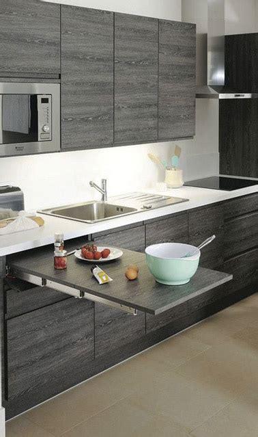 table cuisine petit espace 6 astuces rangement et gain de place dans une cuisine