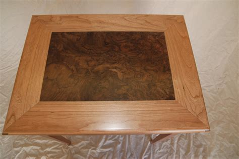 walnut veneer table top rain bird design side table with walnut burl veneer