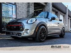 Mini Cooper S with 18in TSW Sebring Wheels exclusively