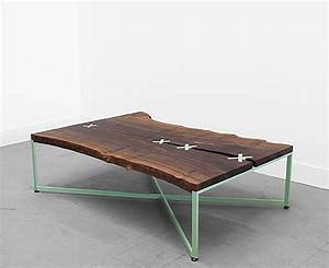 5 fabulous rustic wood slab coffee tables With rustic wood slab coffee table