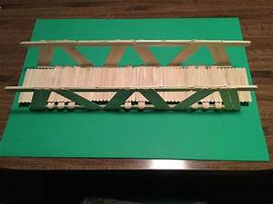 How To Build A Bridge With Popsicle Sticks With Pictures