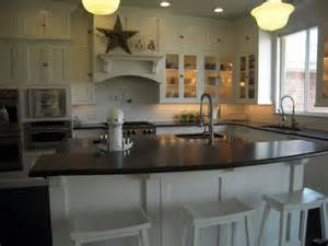 kitchen island with breakfast bar breakfast bar kitchen island traditional kitchen hgtv
