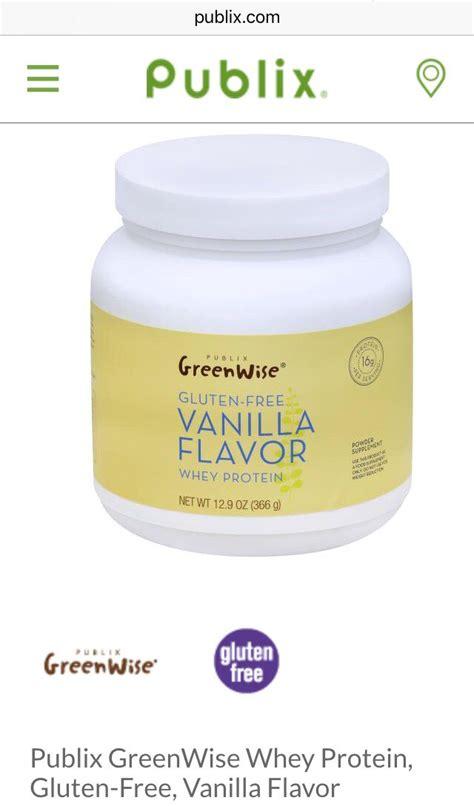 Publix GreenWise Whey Powder Protein Supplement, Natural
