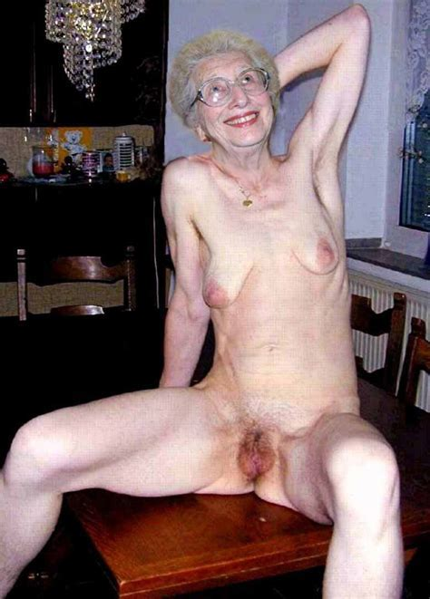 Happy Older Women Nude