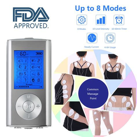 Carevas Massager Rechargeable Electric Pain Relief Machine