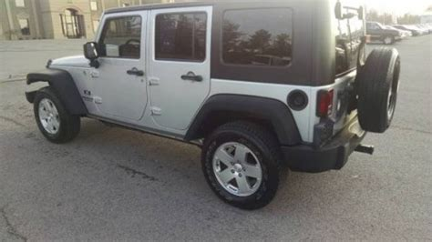 2008 Jeep Wrangler Unlimited X For Sale In West Knowxville Tn