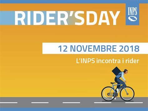 Sedi Inps Torino by Inps Incontra I Rider Apertura Straordinaria In Sette Sedi