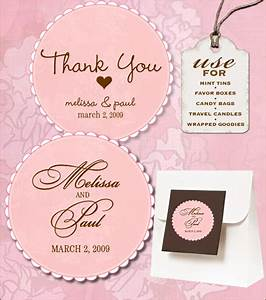 sweet retro free wedding labels download With free diy wedding favor tags template