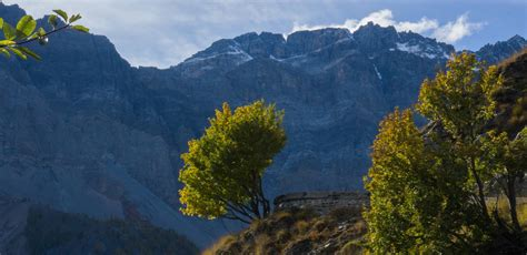 Hiking In Autumn Fall Hikes In Italian Alps Trekking Alps