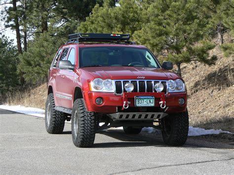 jeep grand cherokee bull bar 2006 jeep grand cherokee in red with bull bar winch