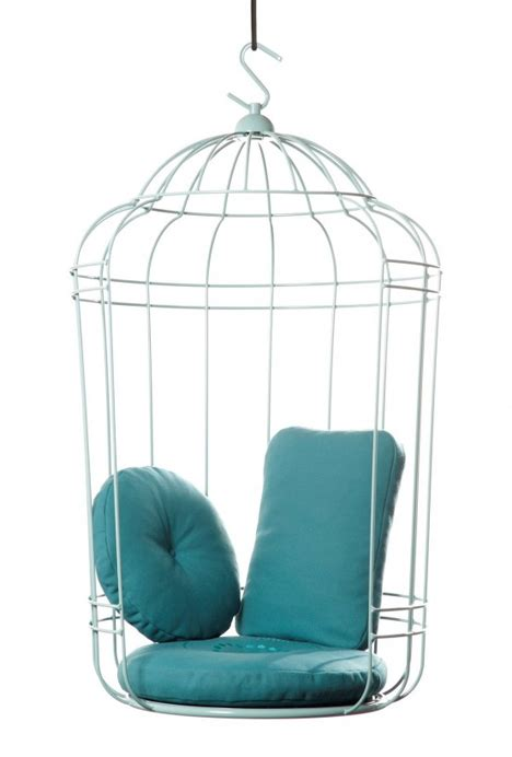 elegant swinging chair is a big inviting birdcage