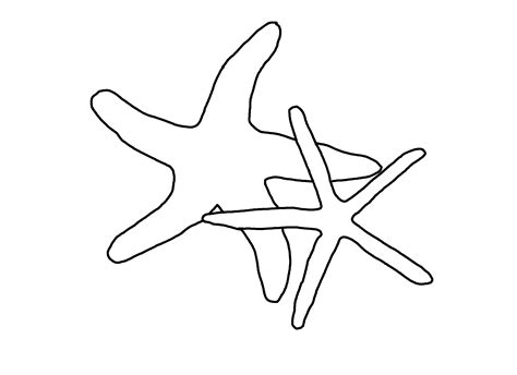 Starfish Coloring Pages Printable