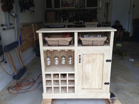 How To Build A Wine Cabinet by White Shanty Console Turns Wine Cabinet Diy Projects