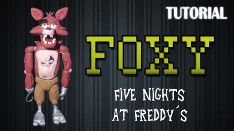 tutorial foxy en plastilina fnaf     foxy