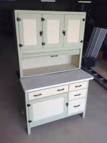 antique hoosier sellers kitchen cabinet cupboard painted