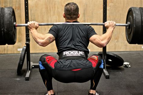 Back Squat Exercise - Full Squat for Leg Workout ...