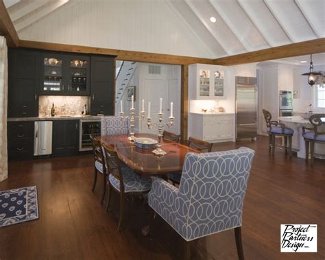 Dining Room With Bar by His Bar Traditional Dining Room Chicago By