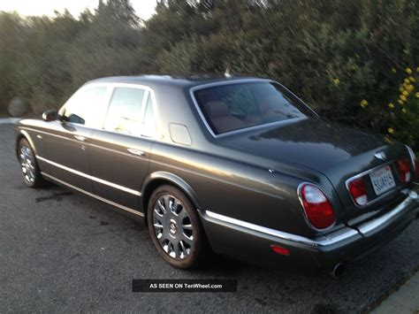 2005 Bentley Arnage R Sedan 4 Door 6 7l