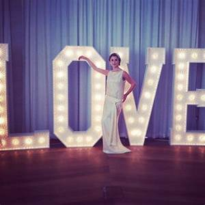 16 best images about big letters on pinterest big for Giant letters for wedding