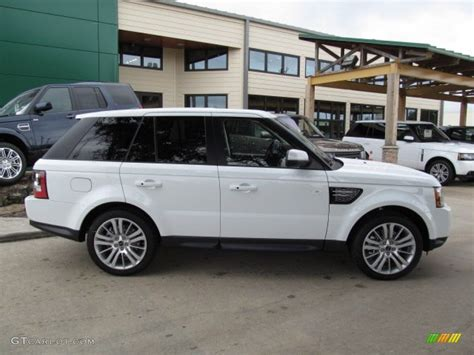land rover sport white fuji white 2013 land rover range rover sport hse exterior