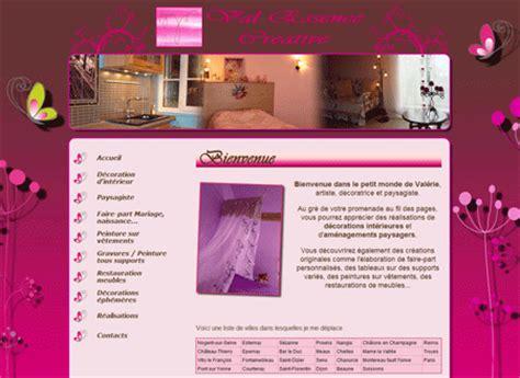 exemple de site vitrine val essence creative d 233 coration d int 233 rieur paysagisme faire part