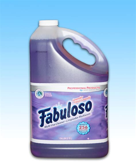 fabuloso cleaner lavender gallon