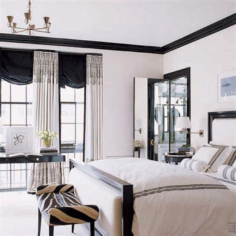 black crown molding contrast   striking   white