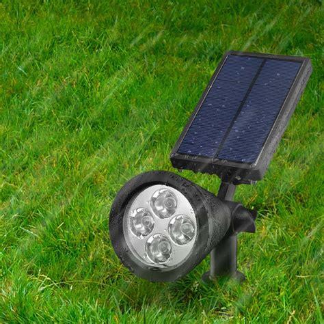 luce solare per giardino 2 lada solare faretto faro da esterno giardino 4 led