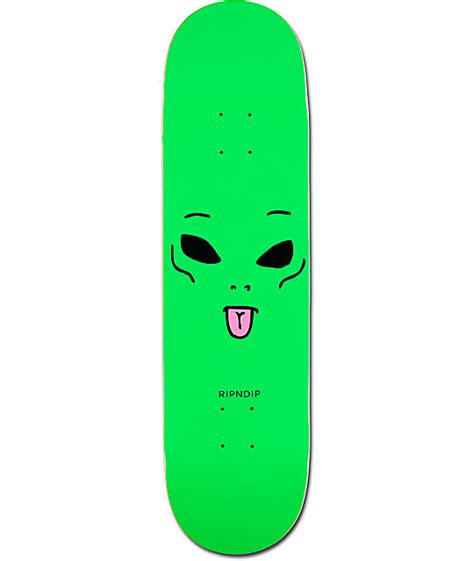 "Ripndip We Out Here 825"" Skateboard Deck"