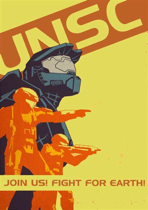 Halo Propaganda Recolor Unsc By Gotwaf On Deviantart