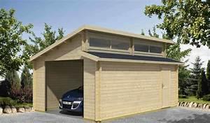 prix dun garage prefabrique prix de posefr With garage en bois en kit
