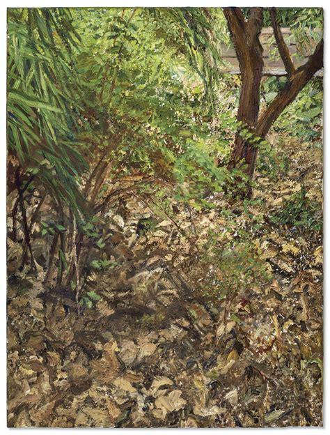 lucian freud   painters garden christies