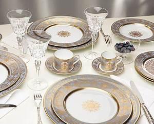 Service De Vaisselle : service de table porcelaine de limoges assiettes ~ Voncanada.com Idées de Décoration