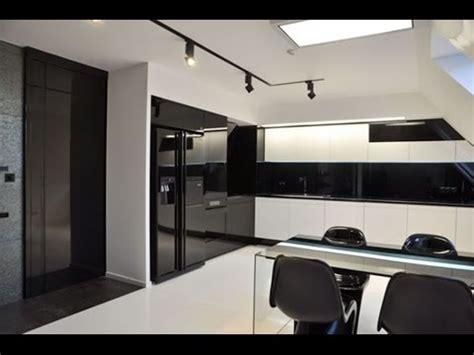 minimalist black white kitchen design inspiration youtube