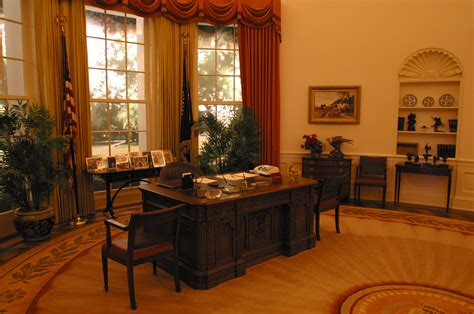oval office tour library oval office