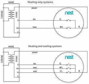 Nest Thermostat Wiring Diagram Heat Pump