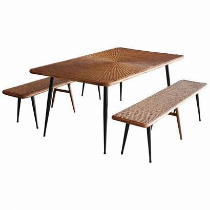 Picnic 1stdibs Tables Antique Wicker Benches