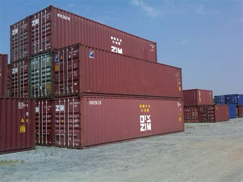 Sale Of Used Storage Containers And Second Hand Shipping