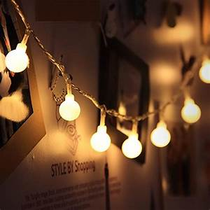 Led Lichterkette Glühbirne : led globe lichterkette innen deko gl hbirne 10 meter 100er warmwei von innootech lichterkette ~ Whattoseeinmadrid.com Haus und Dekorationen