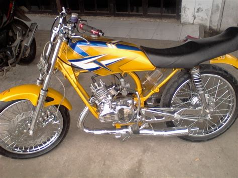 Rx King Warna Kuning by Koleksi Modifikasi Motor Rx King Warna Biru Terbaru
