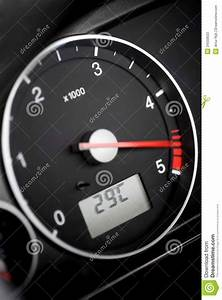 Tachometer- Diesel Stock Photos