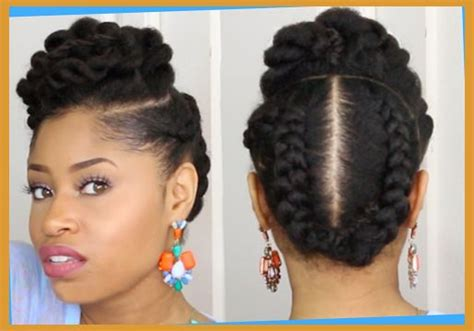 Professional Natural Hairstyles For Black Women Within